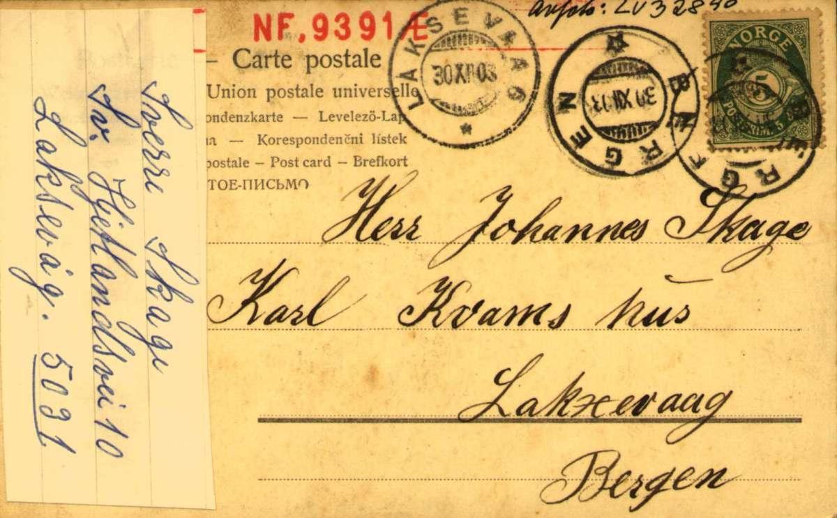 Postkort, Nyttårshilsen