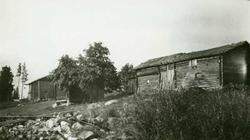 Fjøs, loftbu og stall, Ryen, Grue Finnskog, Grue, Hedmark. F