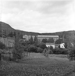 Serie. Fra Solberg Spinneri i Drammen. Fotografert august 19
