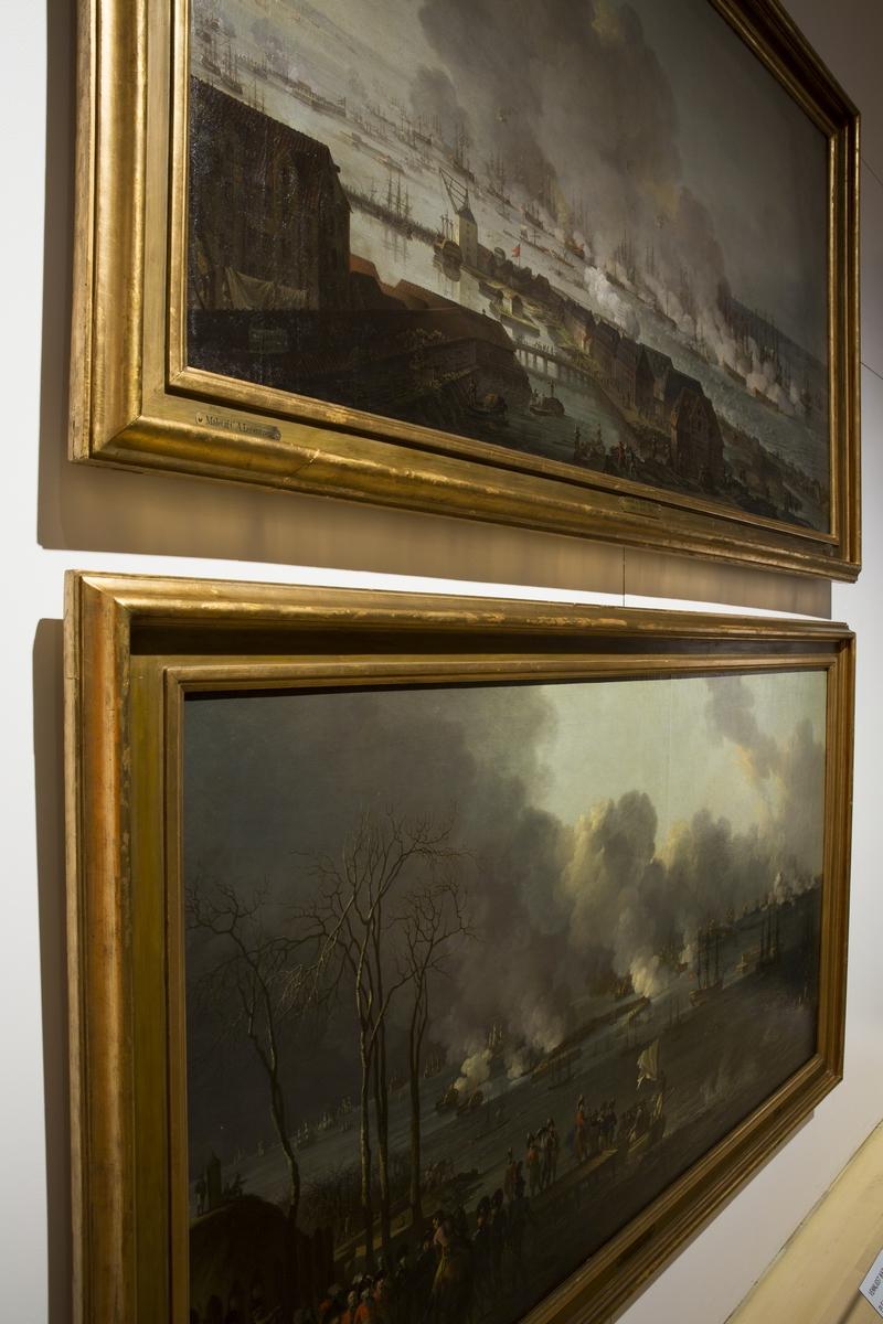 """Fra utstillingen """"1814 - spillet om Danmark og Norge"""" på Norsk Folkemuseum. Utstillingsperiode 14. januar til 31. juli 2014."""