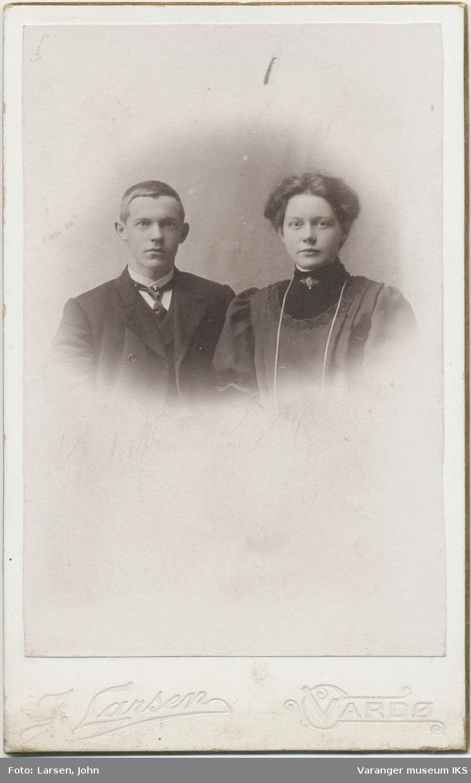 Dobbeltportrett, Josefine og Osvald Degerstrøm
