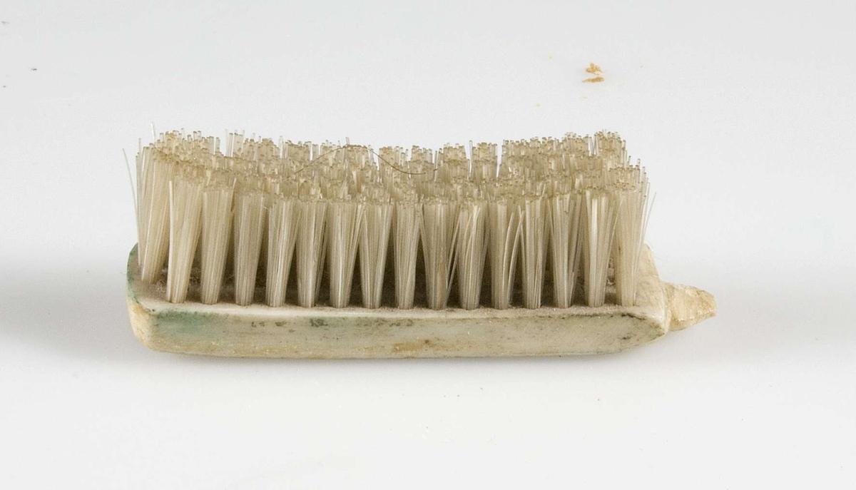 Huvud till tandborste.