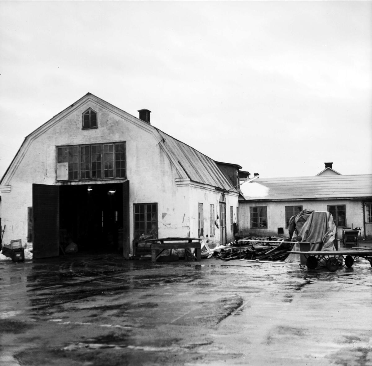 Ny industri till Mehedeby, Tierps socken, Uppland 1967