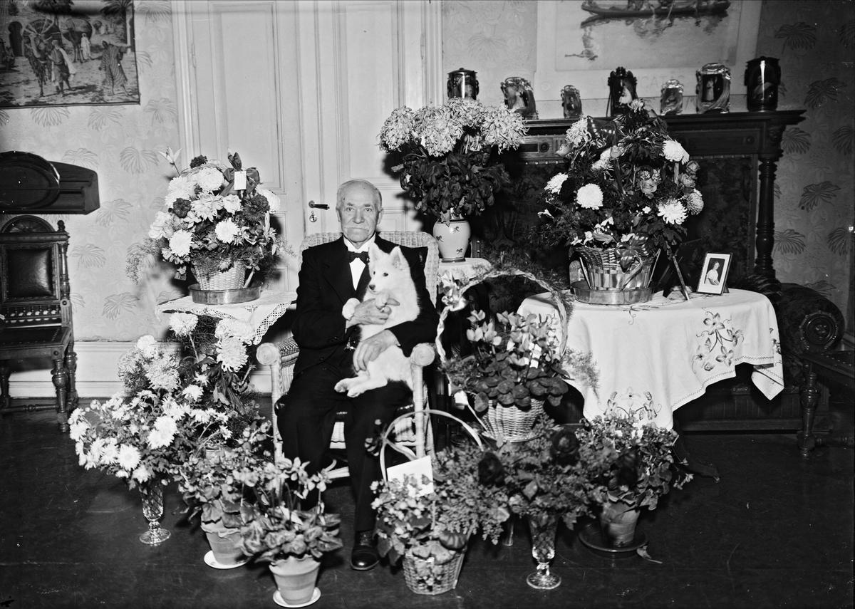 Födelsedagsporträtt - man, Uppsala 1937