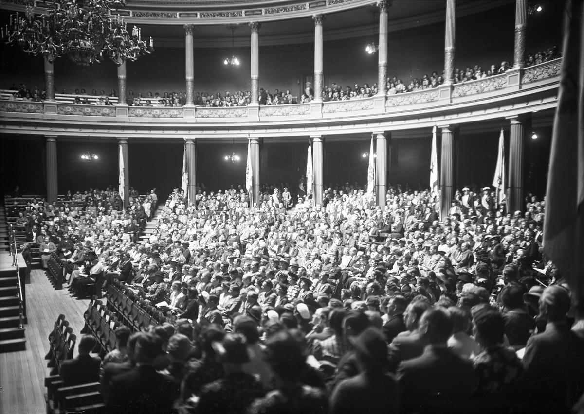 Vårkonsert i Universitetsaulan, Uppsala 1938