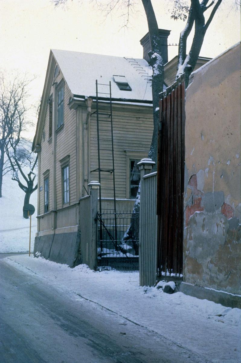 Bebyggelse i kvarteret Trädgården, Uppsala 1962