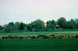 Landskapsvy med Markims prästgård, Markims socken, Uppland 1