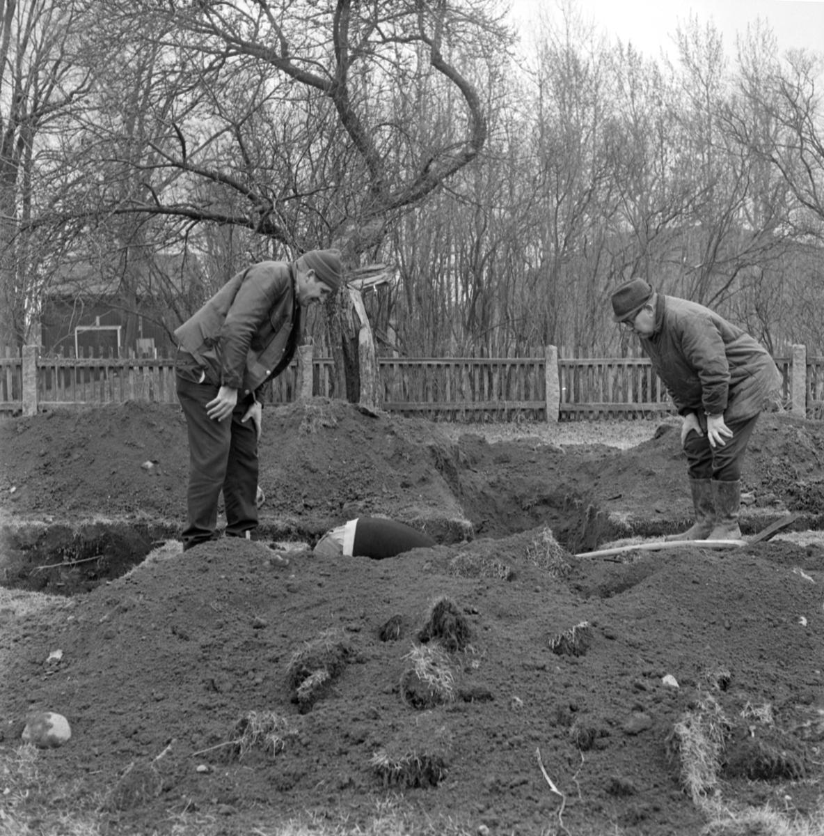 Prästgården - Arkeologi Gamla Uppsala 1973