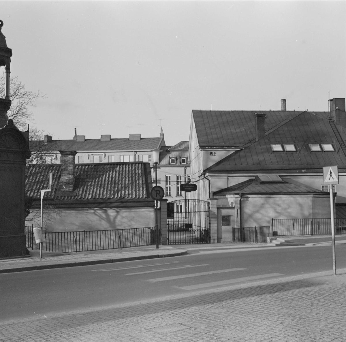 Upplandsmuseet, Akademikvarnen, kvarteret Holmen, Uppsala 1967