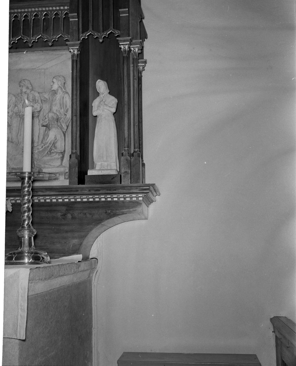 Altarskåp i Helga Trefaldighets kyrka, kvarteret Oden, Fjärdingen, Uppsala