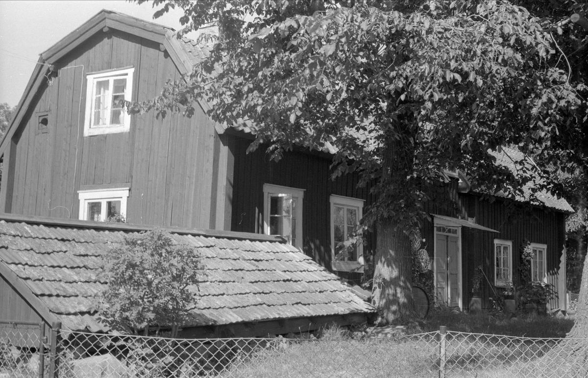 Jordkällare och parstuga, Svista 5:1och 8:1, Bälinge socken, Uppland 1976