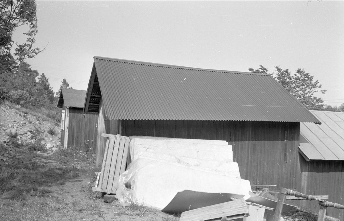 Tvättstuga, Östa 2:6, Ärentuna socken, Uppland 1977