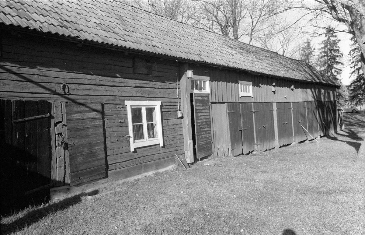 Slöjdbod/magasin och lider/magasin, Fullerö 18:22, Hämringe, Gamla Uppsala socken, Uppland 1978