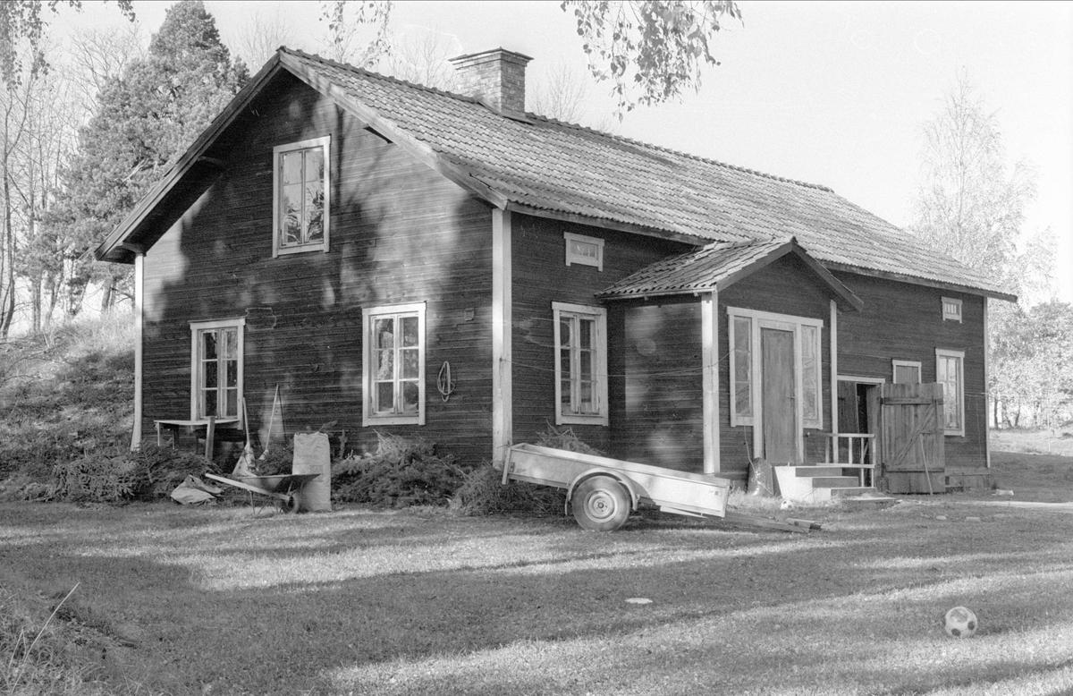 Uthus, Stora Prästgården, Gamla Uppsala, Gamla Uppsala socken, Uppland 1978