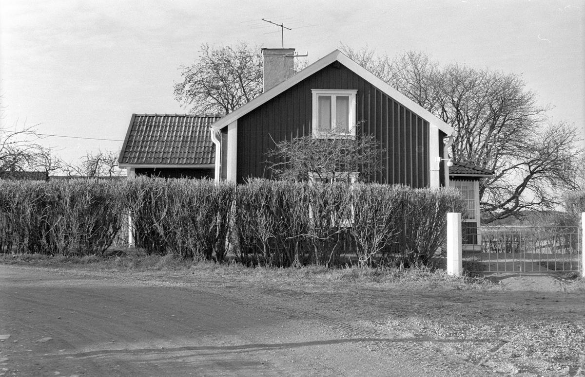 Bostadshus, Lilla Djurgården, Danmarks socken, Uppland.