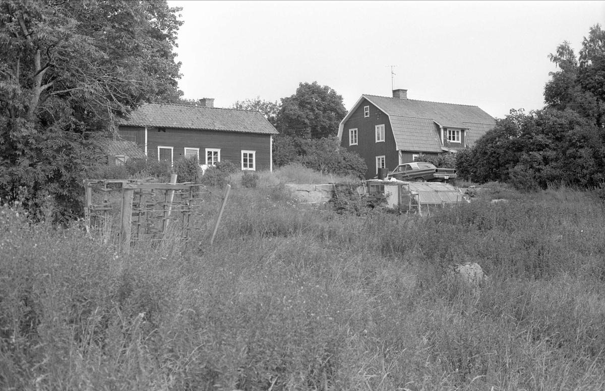 Vy över Ärnevi 3:4, Ärnevi, Funbo socken, Uppland 1982