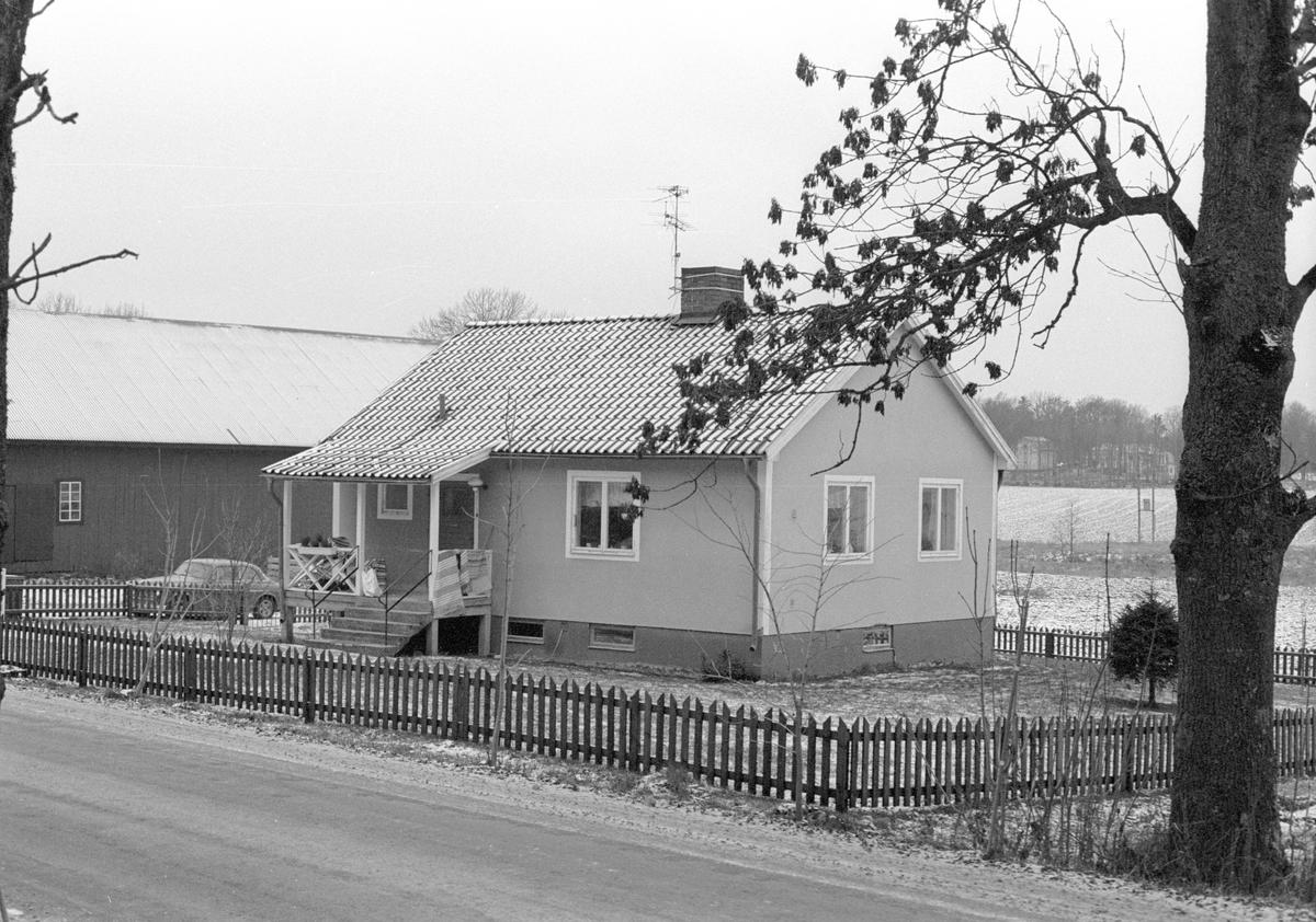 Bostadshus, Hagby prästgård (S:1), Hagby, Hagby socken, Uppland 1985