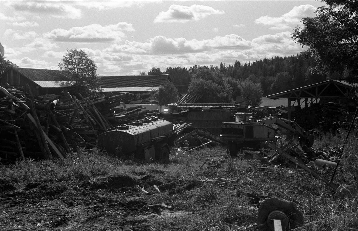 Sågverk och skrotupplag, Ellringe 1:16, Almunge socken, Uppland 1987