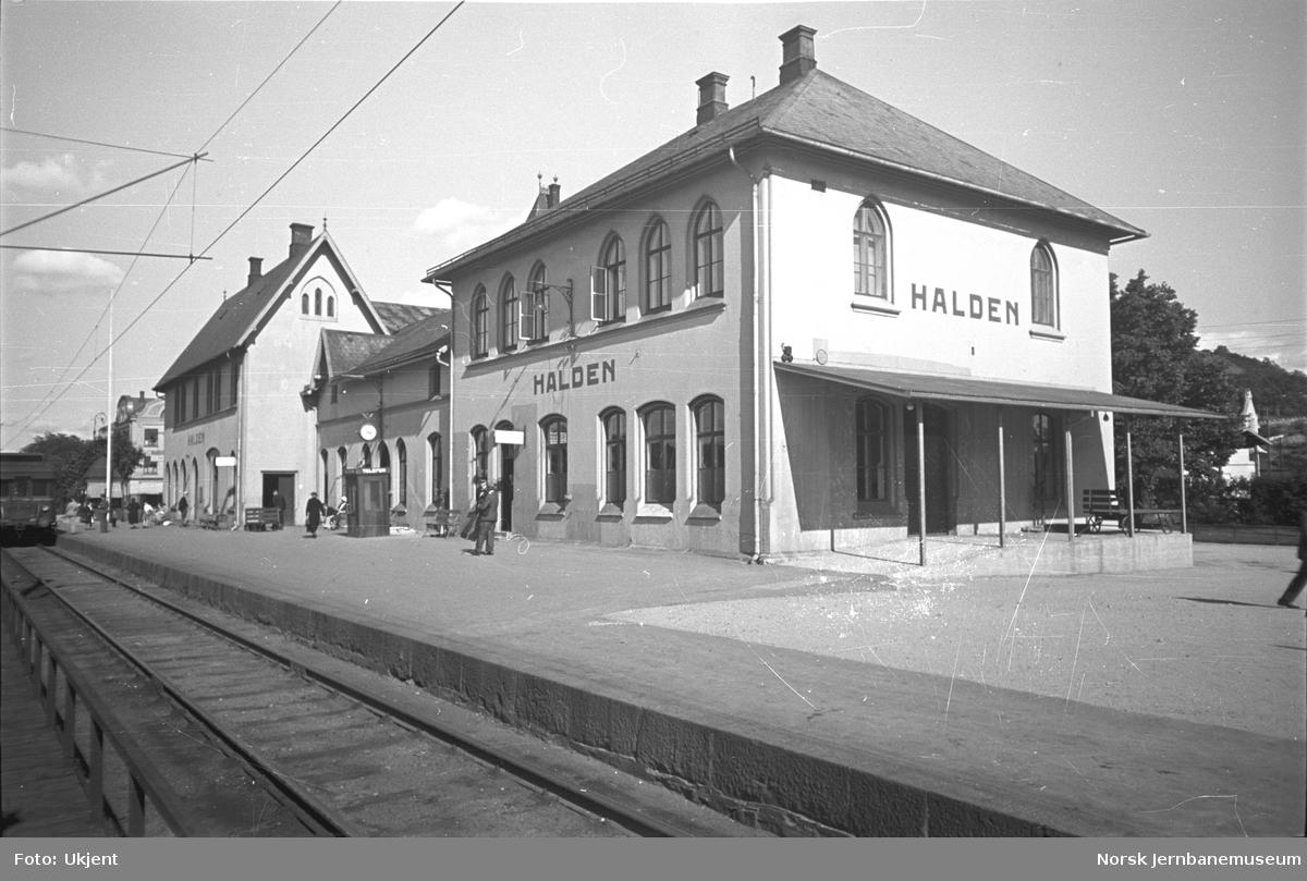 Halden stasjonsbygning