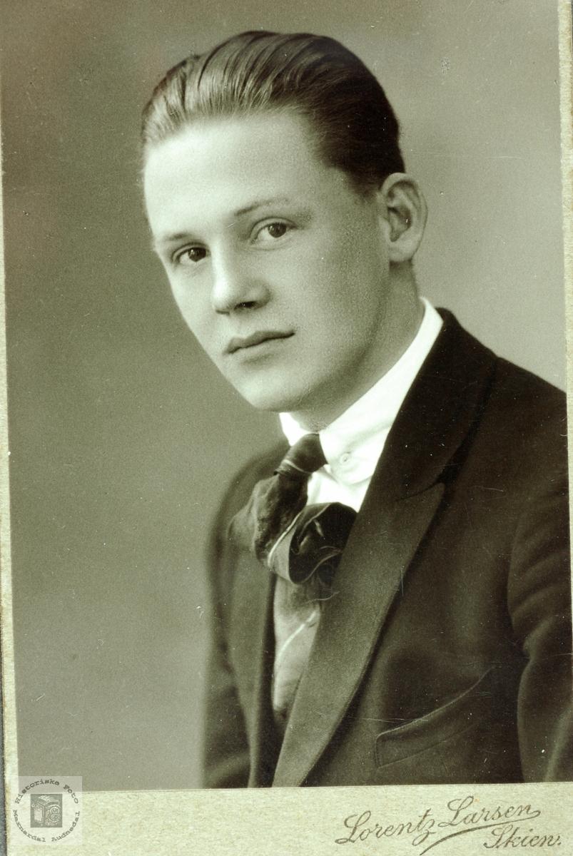 Portrett av Nils Seland. Grindheim Audnedal.