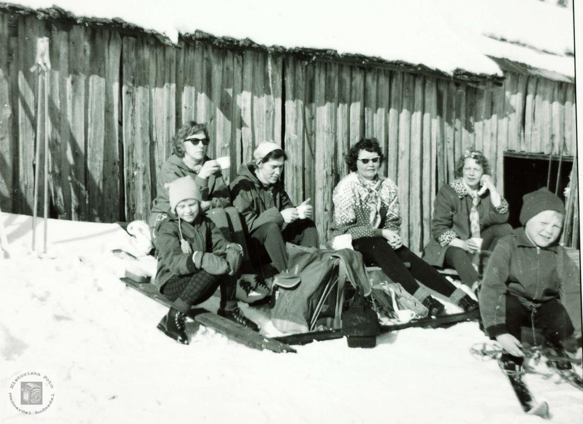 Skitur til Gåstad og Flottorpsheia. Grindheim Audnedal.