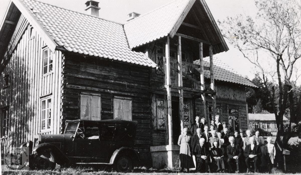 Ombygging av huset Der Heima på Barstad. Konsmo Audnedal.