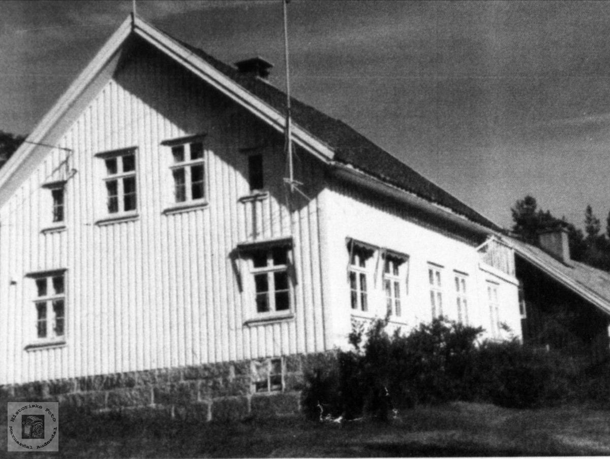 Barndomshjem til Jan M. Ask, Klyva, Bjerland i Bjelland