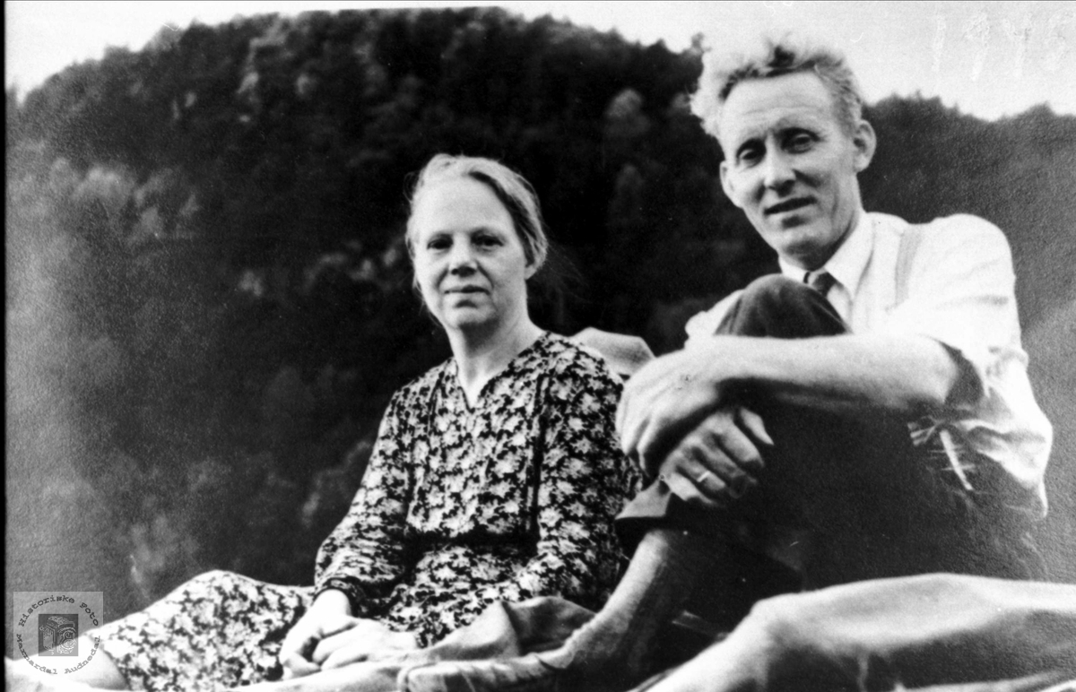 Ekteparet Sigrid og Kristian Ågedal