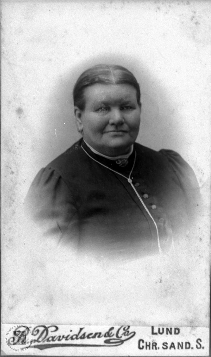 Portrett avTarjerd Haugland, Bjelland.