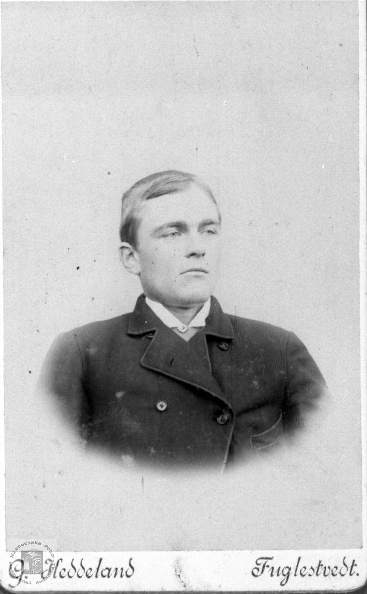 Portrett av Knut Glambeksen Finsdal, Øyslebø.
