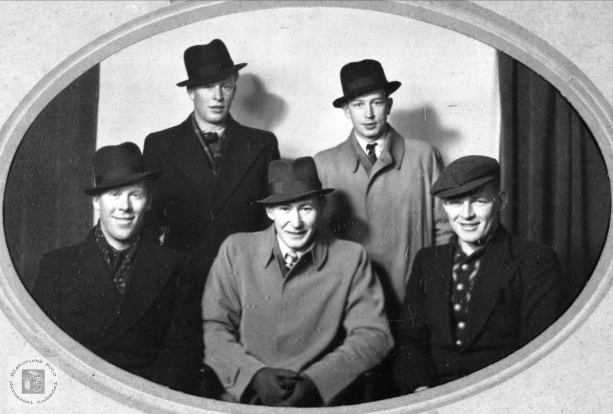 Kamerater, Johnsen, Ørstad, Bue, Kolstad.