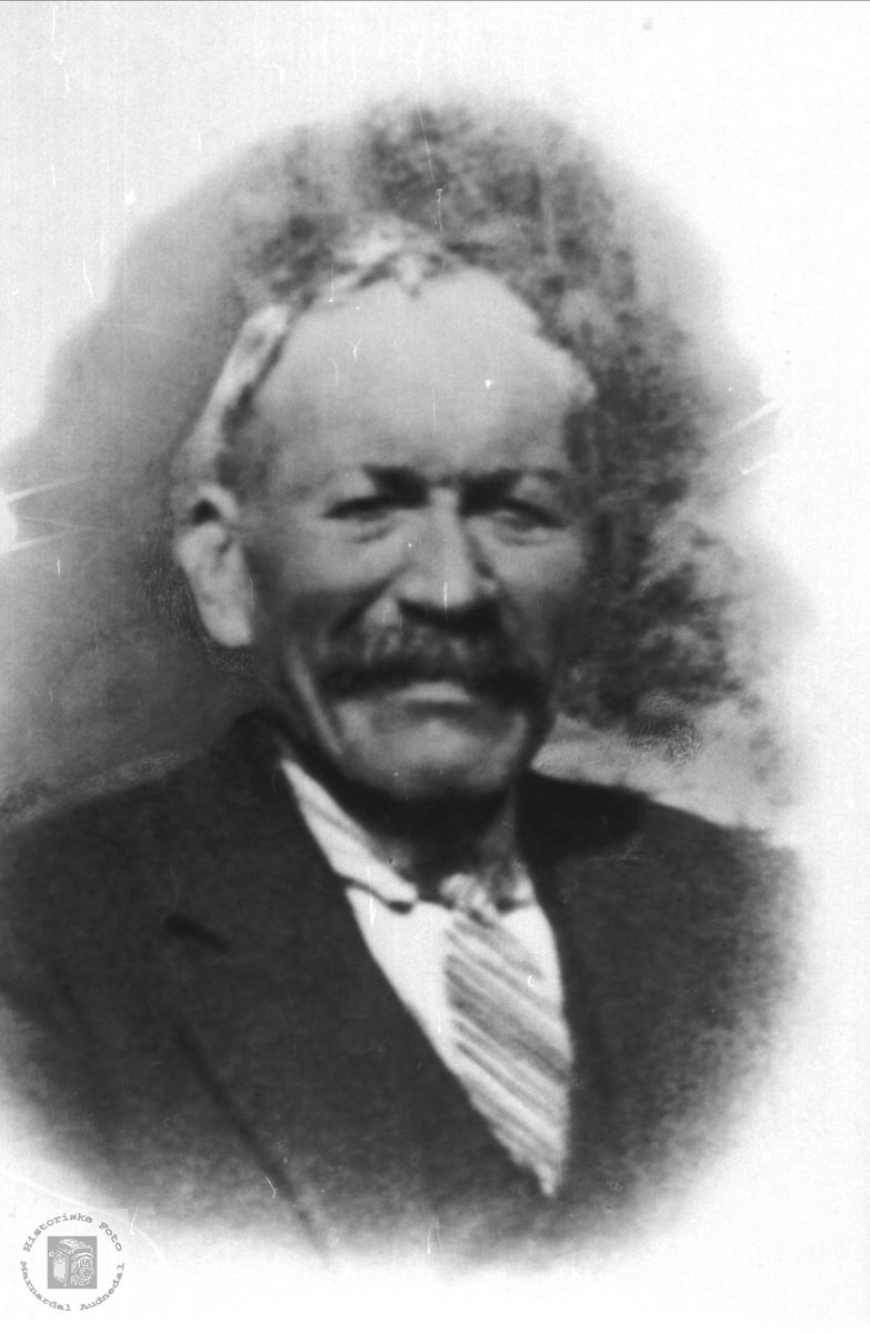 Portrett av Søren Solberg, Bjelland.