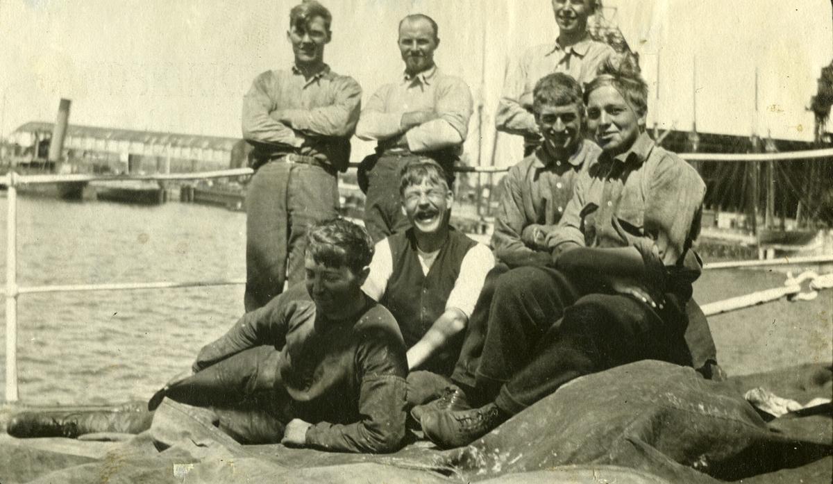 Middagshvil på bakken -  Bark 'Storegrund'(ex Wynford)(b. 1897, W. Hamilton, Port Glasgow)