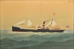 D/S 'Anna' av Stavanger [Akvarell]