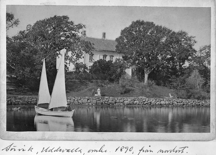 Sörvik, Uddevalla, omkr 1890, från nordost.