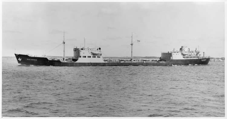 Fartyg 113 M/T Islas Georgias vid leverans.