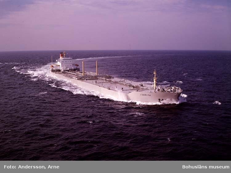 M/T Juanita D.W.T. 135.483 Rederi A/S Uglands Rederi, Grimstad Norge Kölsträckning 73-01-24 Nr. 247 Leverans 73-09-20 Tankfartyg