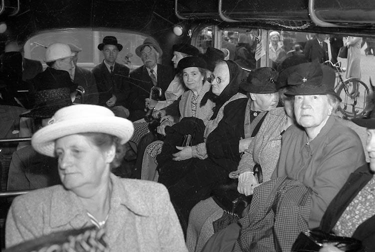 """Enligt notering: """"De gamlas utfärd 14/8 1948""""."""