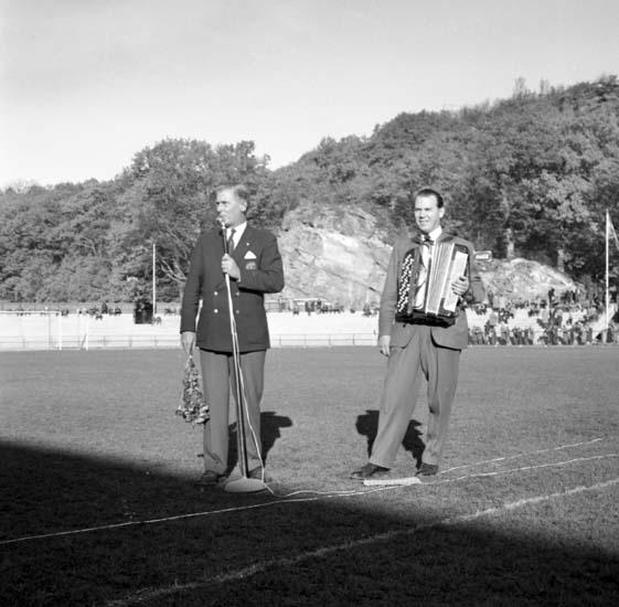 """Enligt notering: """"Gåsafotboll d 26/10 -58""""."""