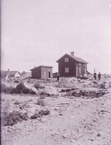 Otto Anderssons stenhuggeri i Bansvik, Lysekil den 25 juli 1925