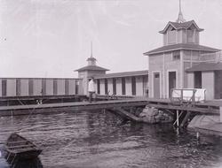 Herrbassängen, Havsbadet i Lysekil