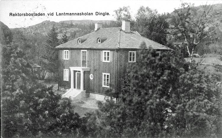 Rektorsbostaden vid Lantmannaskolan Dingle.