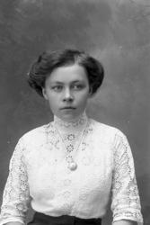 """Enligt fotografens journal Lyckorna 1909-1918: """"Högström, Ol"""