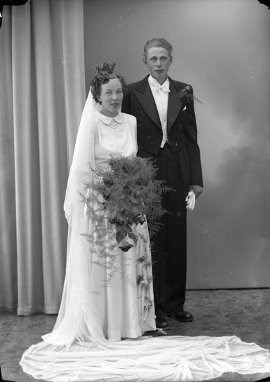 "Enligt fotografens journal nr 8 1951-1957: ""Haraldsson, Herr Gerhard Kåderöd, Svenshögen""."