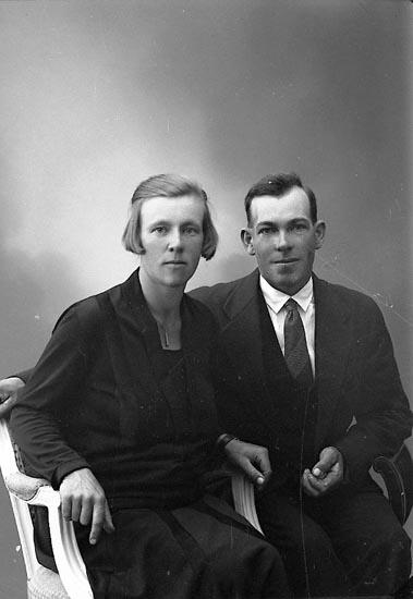 """Enligt fotografens journal nr 6 1930-1943: """"Edvardsson, Karl Torö Hoga""""."""