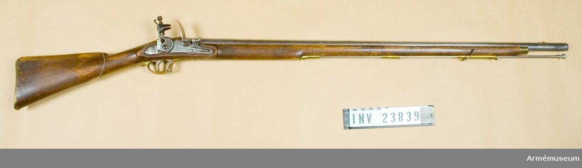 Infanterigevär, förändringsmodell 1830-tal, klass I. Grupp E II B.