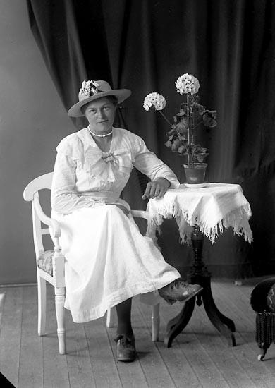 "Enligt fotografens journal nr 4 1918-1922: ""Pettersson, Eris Husebacken, Svenshögen"","