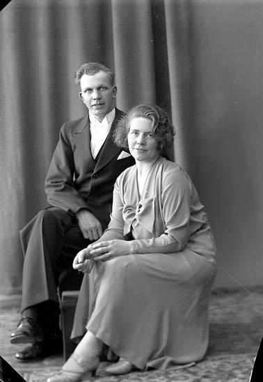 Brudparet Svea och Per Pettersson