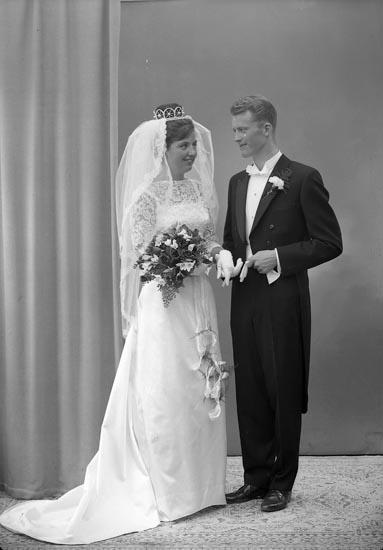 """Enligt fotografens journal nr 9 1958-: """"Wassén, Ingeniör Ödsmål""""."""