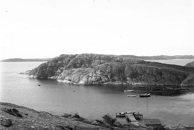 """Enligt fotografens notering: """"Norum, St. Askerön, Fiskevik""""."""